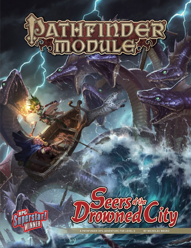 Cover of Seers of the Drowned City