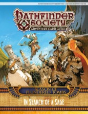 Pathfinder Adventure Card Guild Adventure #3-3—In Search of a Sage