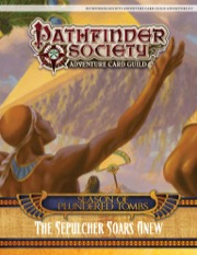 Pathfinder Society Adventure Card Guild Adventure #3-5: The Sepulcher Soars Anew