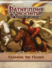 Pathfinder Society Adventure Card Guild #4-2—Fanning the Flames PDF