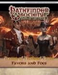 Pathfinder Society Adventure Card Guild #4-3—Favors and Foes PDF