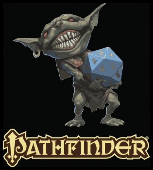 Paizo Com Pathfinder Goblin With D20 T Shirt