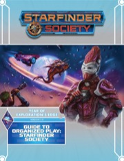 Starfinder Society Roleplaying Guild Guide