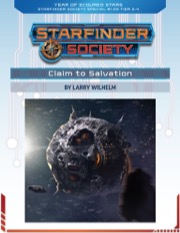 Starfinder Society Special #1-00: Claim to Salvation PDF