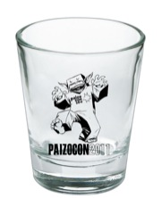 PaizoCon 2011 Shot Glass