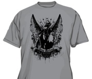 Pathfinder T-Shirt: Gray Maidens