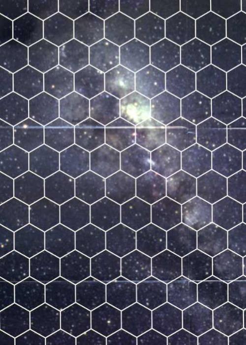 Paizo Com Star Wars Gamer Starscape Hex Grid Poster Map