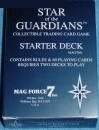 Star of the Guardians CCG - 2 decks opened