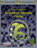 Staves of Arcane Focus (PFRPG) PDF