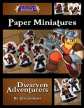 Battle! Studio Paper Minis: Dwarven Adventurers PDF