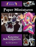 Battle! Studio Paper Minis: Gnome Adventurers PDF