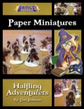 Battle! Studio Paper Minis: Halfling Adventurers PDF