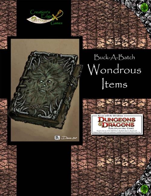 paizo.com - Buck-A-Batch: Wondrous Items (4E) PDF - photo#4