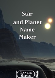 Star and Planet Name Maker PDF
