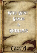 Wild West Names & Nicknames PDF
