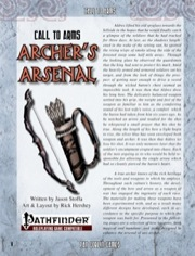 Call to Arms: Archer's Arsenal (PFRPG) PDF