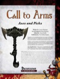 Call to Arms: Axes and Picks (PFRPG) PDF