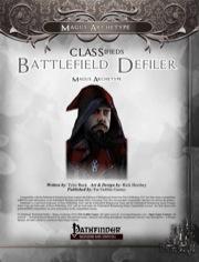 CLASSifieds: Battlefield Defiler, Magus Archetype (PFRPG) PDF