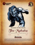 Monster of the Week: The Mahaha (PFRPG) PDF