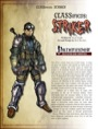 CLASSifieds: Striker (PFRPG) PDF