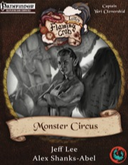 Letters from the Flaming Crab: Monster Circus (PFRPG) PDF