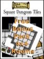 Inked Adventures: Square Dungeon Tiles—4x4 Rooms Bonus Pack PDF