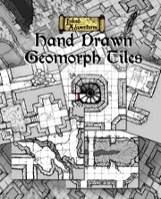 Inked Adventures: Hand-Drawn Geomorph Tiles PDF