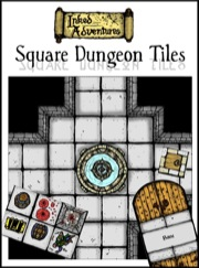 Inked Adventures: Square Dungeon Tiles PDF