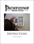 Pathfinder Paper Minis Instructions PDF