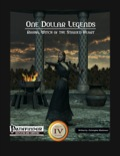One Dollar Legends: Rasha, Witch of the Stained Heart (PFRPG) PDF