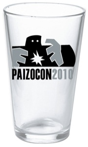 PaizoCon 2010 Pint Glass