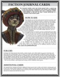 Pathfinder Society: Faction Journal Cards (PDF)