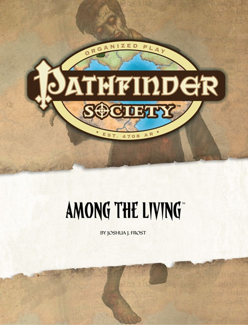 Cover of Pathfinder Society Scenario #7: Among the Living