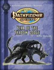 Year of the Shadow Lodge Cover