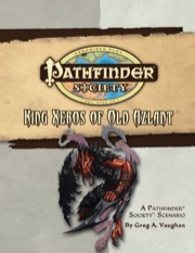 Pathfinder Society Scenario #20: King Xeros of Old Azlant (OGL) PDF