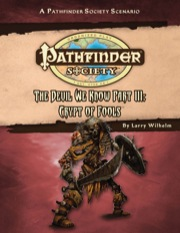 Pathfinder Society Scenario #41: The Devil We Know—Part III: Crypt of Fools (PFRPG) PDF