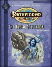 Pathfinder Society Scenario #2-16: The Flesh Collector (PFRPG) PDF