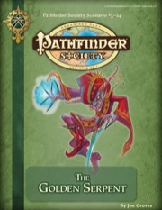 Pathfinder Society Scenario #3–24: The Golden Serpent (PFRPG) PDF