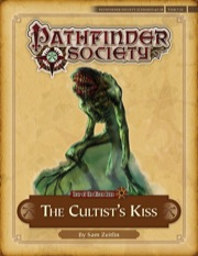 Pathfinder Society Scenario #4–08: The Cultist's Kiss (PFRPG) PDF
