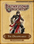 Pathfinder Society Scenario #4–11: The Disappeared (PFRPG) PDF