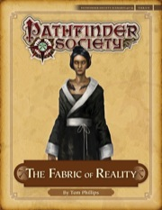 Pathfinder Society Scenario #4–16: The Fabric of Reality (PFRPG) PDF