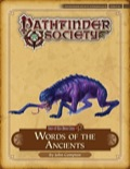 Pathfinder Society Scenario #4–20: Words of the Ancients (PFRPG) PDF