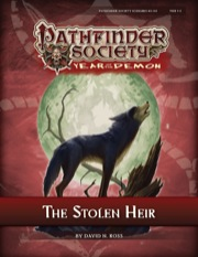 Pathfinder Society Scenario #5–04: The Stolen Heir (PFRPG) PDF
