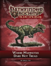 Pathfinder Society Scenario #5–10: Where Mammoths Dare Not Tread (PFRPG) PDF