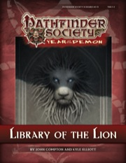 Library of the Lion Cover