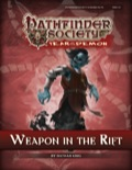 Pathfinder Society Scenario #5–13: Weapon in the Rift (PFRPG) PDF
