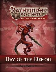 Pathfinder Society Scenario #5–14: Day of the Demon (PFRPG) PDF