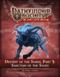 Pathfinder Society Scenario #5–16: Destiny of the Sands—Part 3: Sanctum of the Sages (PFRPG) PDF