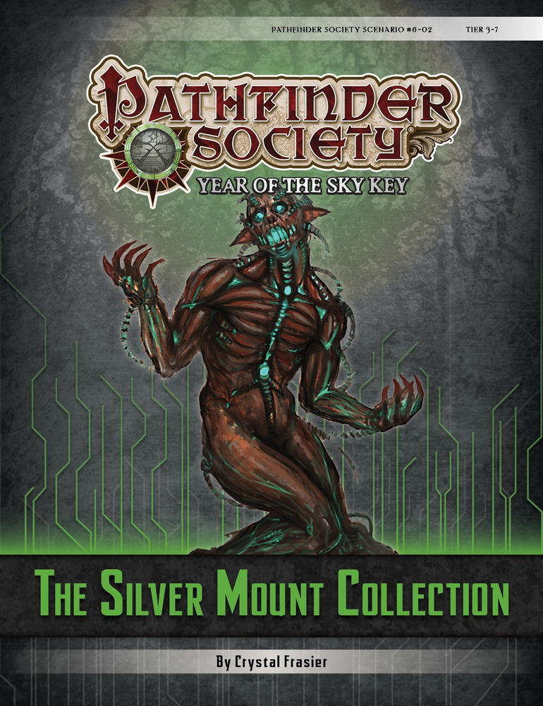 Cover of Pathfinder Society Scenario #6–02: The Silver Mount Collection