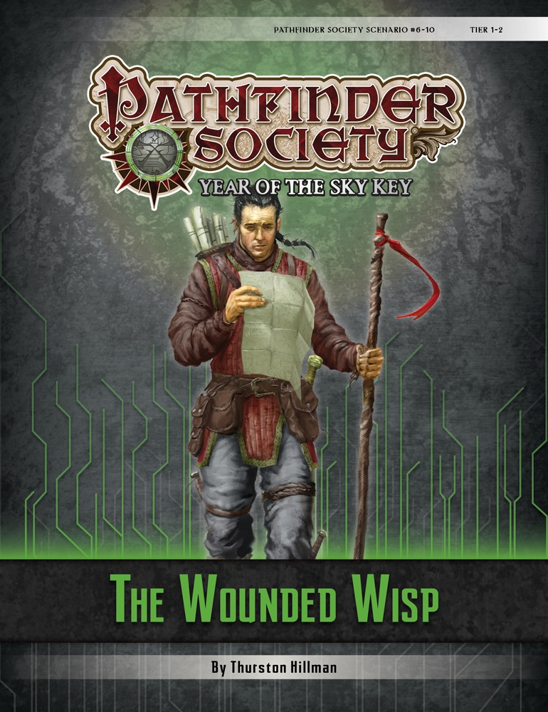 The Wounded Wisp Cover
